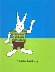 Babbitt Bunny Cover