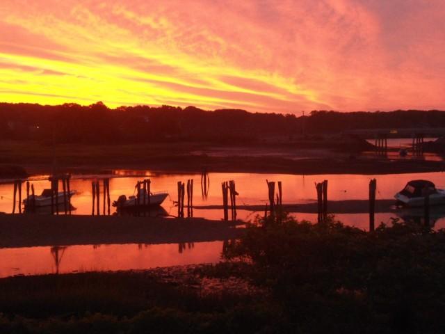 Sunrise In Cape Neddick