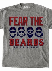 Fear The Beards T Shirt